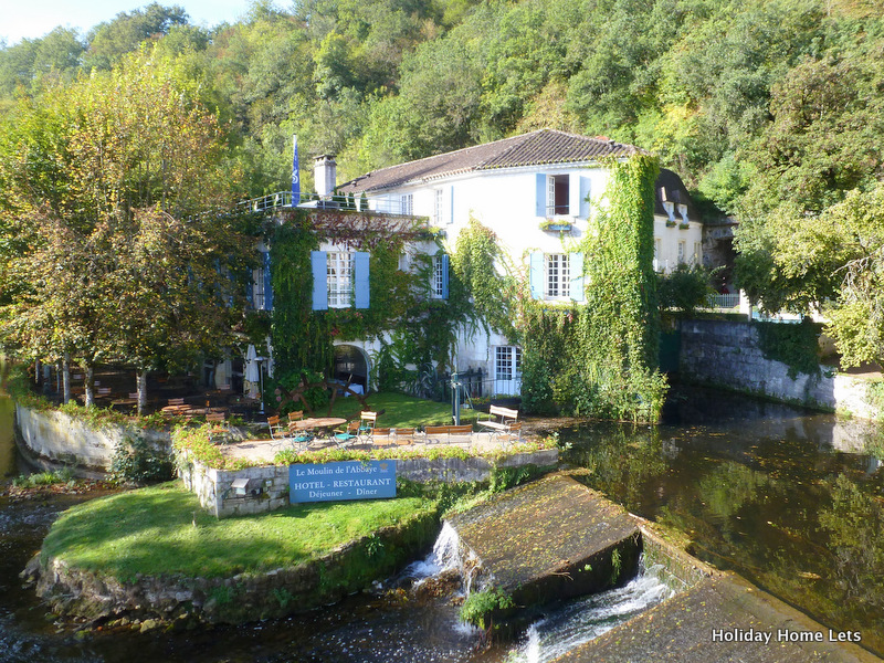 Le Moulin de l'Abbaye in Brantome