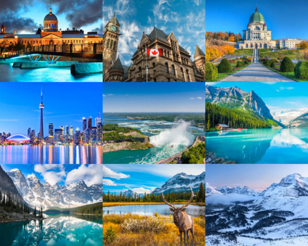 Canada holiday landscapes