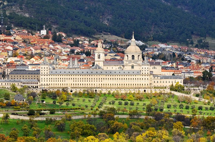 Royal Monastery El Escorial in San Lorenzo